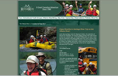 Enjoy RiverRun Rafting's Heritage River Trip on the Ottawa River!